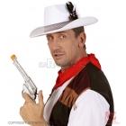 Balta kovboja cepure