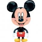 """Staigājošs folijas balons """"Peļuks Mikijs / Mickey Mouse"""" izmērs 55 x 78 cm"""