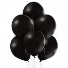 """12""""/30cm lateksa baloni Pastelis Melns 6 gab."""