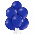 """12""""/30cm lateksa baloni Pastelis Tumši Zils BLUE 6 gab."""