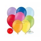 27cm lateksa balons, pastels, krāsu sortiments, 100 gab.
