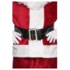 Santa Klausa siksna, melna, ar zelta sprādzi, 145 см