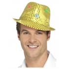 Cepure, zelts, ar daudzfunkcionāliem LED gaismas lukturiem