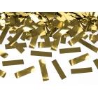 Konfeti plaukšķene, zelta folija, 40cm