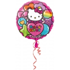 "Folijas hēlija balons ""Hello Kitty Rainbow"", 43 cm"
