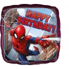 "Folijas hēlija balons ""Spider Man Happy Birthday"", 43 cm"
