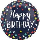 """Folijas hēlija balons  """"Svinam dzimšanas dienu!"""", 43 cm"""