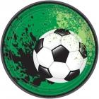 Šķīvji Futbols - spēles laiks, 17.7 cm, 8 gab