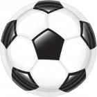Šķīvji Futbols - spēles laiks, 23 cm, 8 gab
