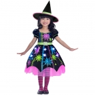 Child Costume Spider Witch Age 4 - 6 Years