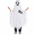 Child Costume Ghostcape Age 6 - 10 Years