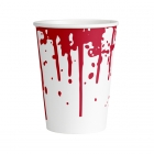 8 Cups Paper Bloody Good Time Paper 250 ml