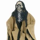 Helovīna dekorācija  Skelets bruna krāsā, piekarama, izmērs 60cm