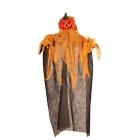 Helovīna dekorācija  Ķirbis, piekarama, izmērs 60cm