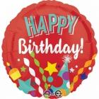 Dzimšanas diena Festivāls folija balons  45 cm