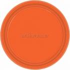 Oranžs papīra šķīvji  17.7 cm, 8 gab