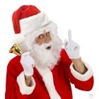 Ziemassvētku vecīša cepure no plīša
