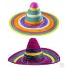 Daudzkrāsains sombrero, 50 cm, 1 gab., divi veidi