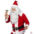 Ziemassvētku vecīša parūka ar bārdu un ūsas. Delux kvalitāte