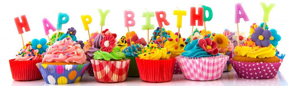 Tematiskās kolekcijas dzimšanas dienas ballītēm - trauki, galda piederumi, dekorācijas, virtenes, hēlija baloni, sveces, ielūgumi un citi aksesuāri