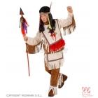 Indiāņu vadoņa kostīms 140 cm, krekls un bikses