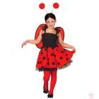 Mārīte karnevāla kleita  Komplektā:  kleita, spārniņi, galvassega  Izmērs:  110cm - 3 - 4 g.  116cm - 4 - 5 g.