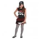 Pirātes kleita meitenem 134 cm