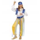 Arābu princese 128 cm - kleita, josla, bikses, veste, cepure