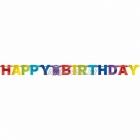 Dzimšanas diena Papīra virtene 220cm