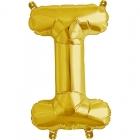 """Burtu balons """"I"""",  41cm, folijas figūra paredzēta piepūšanai ar gaisu"""