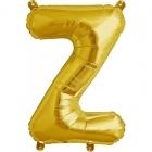 """Burtu balons """"Z"""",  41cm, folijas figūra paredzēta piepūšanai ar gaisu"""