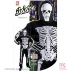 Skeleta tērps Helovīniem