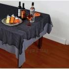Marles galdauts Helovīniem, melnā, 150cm x 210cm