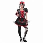 Gotu stilā karnevāla tērps meitenem 12 - 14 gadu vecumā