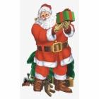 Sižeta iestatītājs Ziemassvētku vecītis Apmeklējums 165 x 85 cm