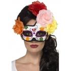 Halovina  dienas pusloka acu maska, dažādās krāsās ar rozēm
