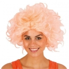 Sieviešu retro parūka  rozā