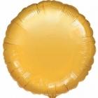 """43 cm Folijas balons  ar hēliju apaļš """"ZELTS"""""""