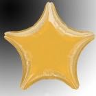"48 cm Folijas balons  ar hēliju zvaigzne ""ZELTS"""