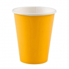 20 Cups Paper Sunshine Yellow 266ml