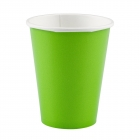 Papīra glazītes Kivi Zaļš 266 ml 20 gab.