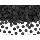 Konfeti melnās krāsas 15 gr.