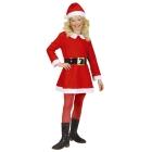 Santa Claus komplekts - kleita cepure 104 - 110 cm 4 - 5 gadu meitenei
