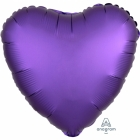 "Standard ""Satin Luxe Purple Royal"" foil balons SIRDS 43 cm"