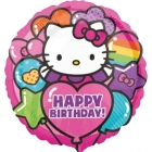 Folijas balons  Hello Kitty  birthday  43 cm