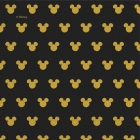 20.gab  2-kārtu  papīra salvetes 33x33cm  MICKEY GOLD