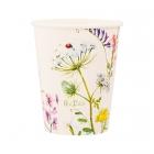 """Papīra glazītes """"Bogemas dārzs"""", 250 ml., 8 gab.,  dabai draudzīgs materiāls"""