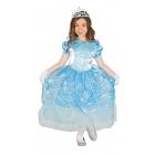 Princeses kostīms meitenēm 5-6 gadi - gaiši zila kleita