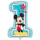 Mikipele  1. dzimšanas diena Super figūre no folijas