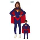 Super varoņa  tērps  7 - 9 gādu vecumā bērniem  kombinezonss  apmetnis